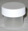 Plastic Wide Top (c)  1/4oz