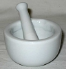 Mortar/Pestle White 2
