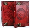 Locking Celtic Leather Blank Book