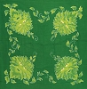 Green Man cloth 3' x 3'