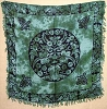 Greenman altar/tarot cloth 36