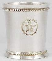 Pentagram Chalice Votive Holder