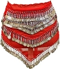 Red Belly Dancing Scarf