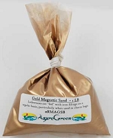 Bulk Gold Magnetic Sand (Lodestone Food)