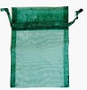 Green Organza Bag
