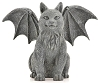 Winged Cat Gargoyle 6 1/2