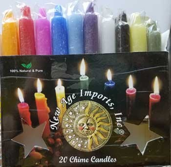 Mixed chime candle 20pk