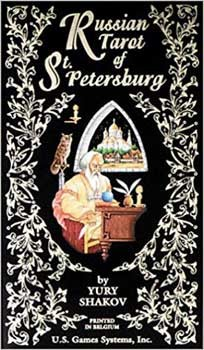 Russian Tarot of St Petersburg by Yury Shakov