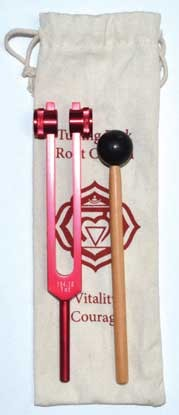 Root Red tuning fork
