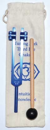 Third Eye Dark Blue tuning fork