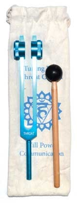 Throat Light Blue tuning fork