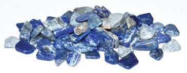 Lapis tumbled chips 7-9mm 1 lb
