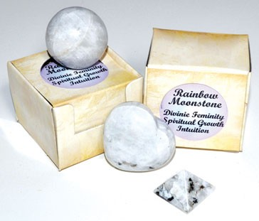 Rainbow Moonstone gift box (set of 12)