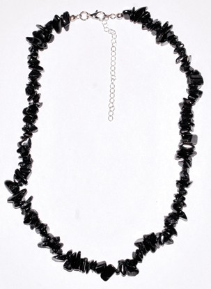 Shungite chip Necklace
