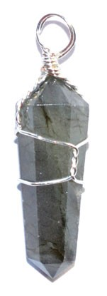 Labradorite Wire Wrapped Point