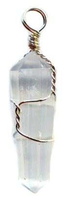 Selenite Wire Wrapped Point