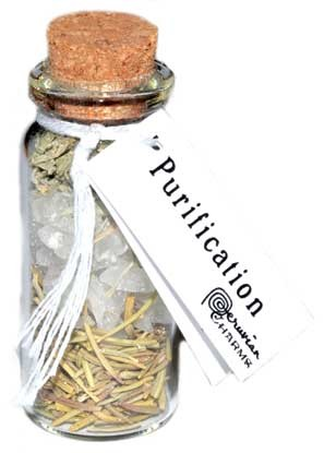 Purification pocket Spell Bottle