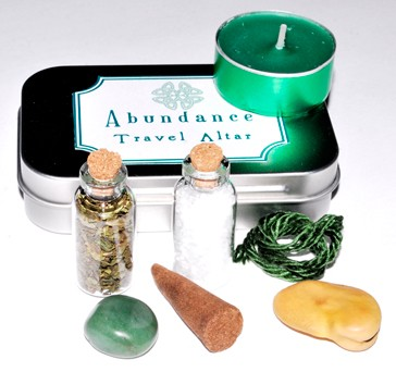 Abundance Travel Mini Altar