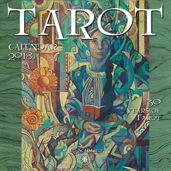 2018 30 Years of Tarot Calendar by Llewellyn