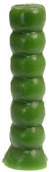 Green Seven Knob Candle