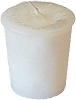Cleansing Herbal votive - white