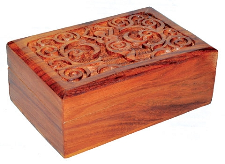 Goddess wood Box
