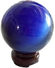 Blue Cat's Eye Ball
