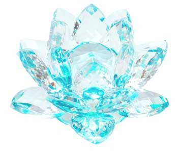 Crystal lotus (various colors)