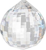 Disco faceted crystal ball  40 mm