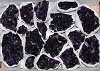 Flat of Amethyst Druse (best quality)