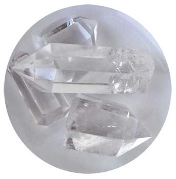 Crystal points 1 lb