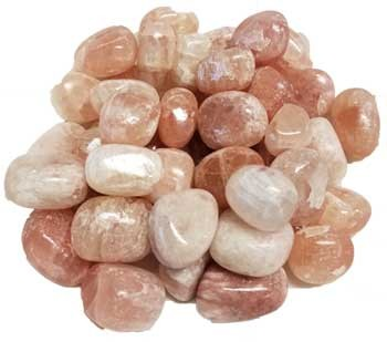 Red Calcite Tumbled Stones