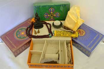 Tibetan incense gift set