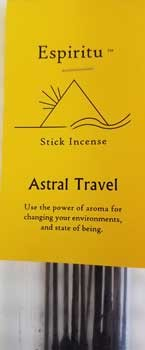 Astral Travel stick incense