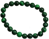 Bracelet 8mm Crystal Malachite
