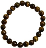 Bracelet 8mm Crystal Tiger Eye