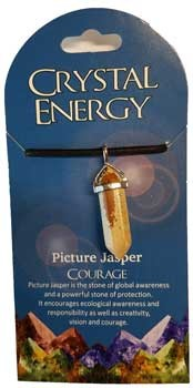 Courage (picture jasper) double terminated