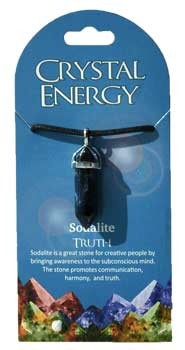 Truth (sodalite) double terminated