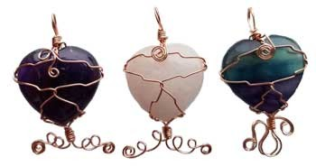 Heart Wire Wrapped