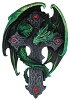 Woodland Cross Dragon Wall Plaque