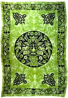 Green Man tapestry 72