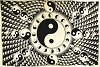 White and Black Yin Yang (72