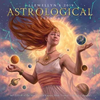 2019 Astrological Calendar by Llewellyn