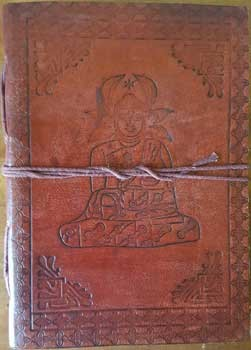 Buddha leather journal