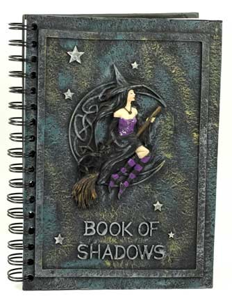 Witch's Book of Shadows 5 inches  by 8 inches