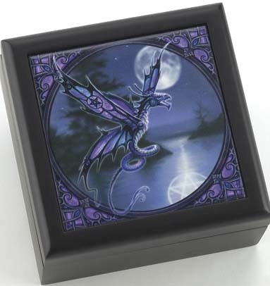 Dragonfly Box Anne Stokes