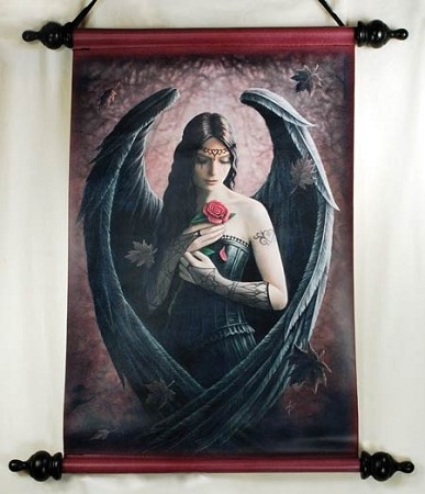 Anne Stokes Angel Rose scoll