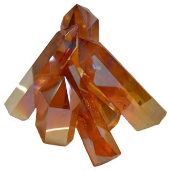 Angel Gold Crystal points 1 lb