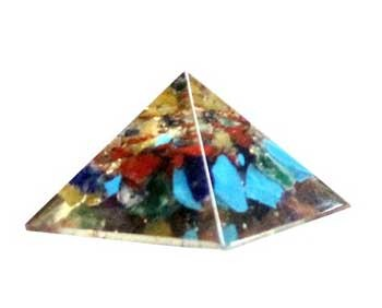 Orgone Mixed Pyramid