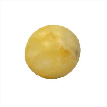 40mm Calcite, yellow sphere